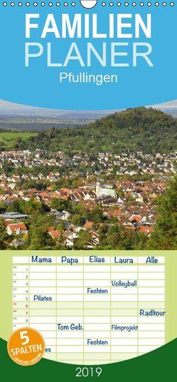 Pfullingen … und Umgebung – Familienplaner hoch (Wandkalender 2019 , 21 cm x 45 cm, hoch) von GUGIGEI