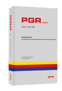 PGR 2020 von Gassner,  Arthur, Morscher,  Dietmar