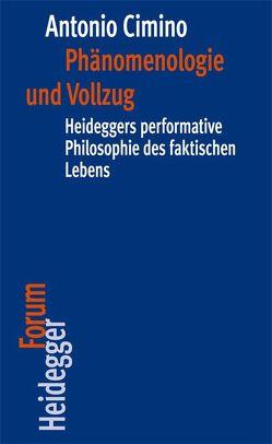 Phänomenologie und Vollzug von Cimino,  Antonio