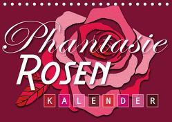 Phantasie-Rosen (Tischkalender 2020 DIN A5 quer) von Design,  ROTH