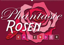Phantasie-Rosen (Wandkalender 2020 DIN A2 quer) von Design,  ROTH