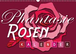 Phantasie-Rosen (Wandkalender 2020 DIN A3 quer) von Design,  ROTH