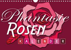 Phantasie-Rosen (Wandkalender 2020 DIN A4 quer) von Design,  ROTH