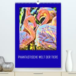 Phantastische Welt der Tiere (Premium, hochwertiger DIN A2 Wandkalender 2020, Kunstdruck in Hochglanz) von Sock,  Reinhard