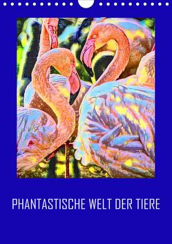Phantastische Welt der Tiere (Wandkalender 2020 DIN A4 hoch) von Sock,  Reinhard