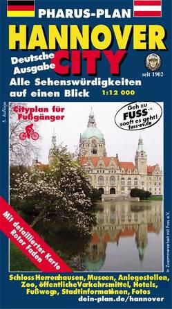 Pharus-Plan Hannover-City von Bernstengel,  Rolf