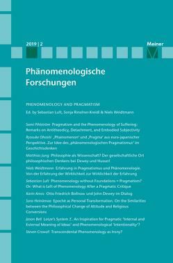 Phenomenology and Pragmatism von Breyer,  Thiemo, Jansen,  Julia, Luft,  Sebastian, Rinofner-Kreidl,  Sonja, Römer,  Inga, Weidtmann,  Niels