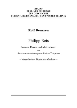 Philipp Reis von Bernzen,  Rolf