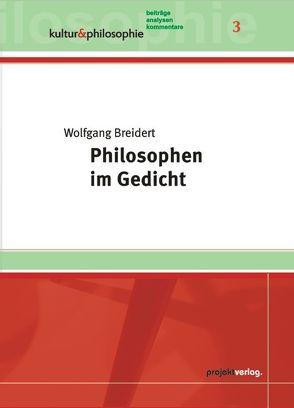 Philosophen im Gedicht von Breidert,  Wolfgang