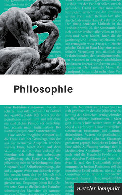 Philosophie von Prechtl,  Peter