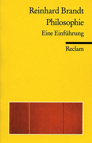 Philosophie von Brandt,  Reinhard