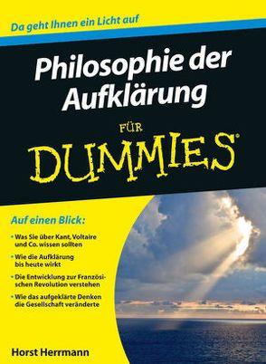 Philosophie der Aufklärung für Dummies von Herrmann,  Horst