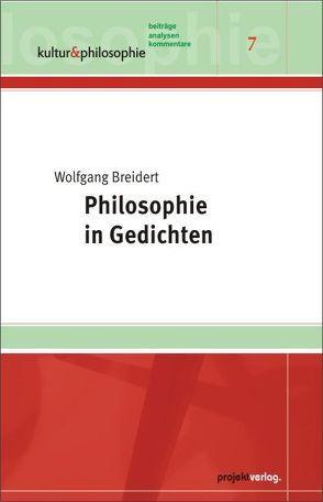 Philosophie in Gedichten von Breidert,  Wolfgang