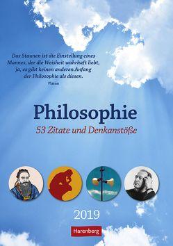 Philosophie – Kalender 2019 von Harenberg, Roth,  Julius Maria