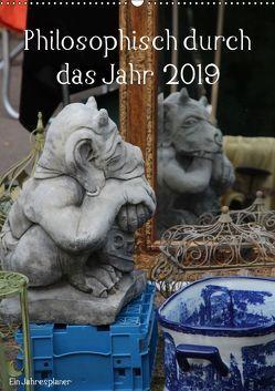 Philosophisch durch das Jahr 2019 / Planer (Wandkalender 2019 DIN A2 hoch) von Stolzenburg,  Kerstin