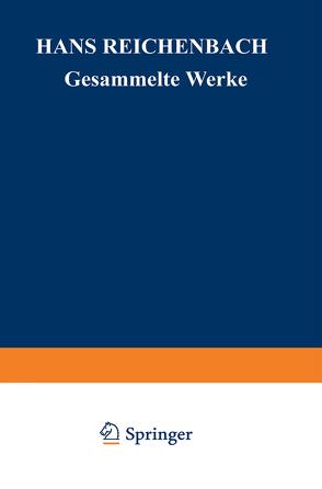 Philosophische Grundlagen der Quantenmechanik und Wahrscheinlichkeit von Kamlah,  Andreas, Reichenbach,  Hans, Reichenbach,  Maria