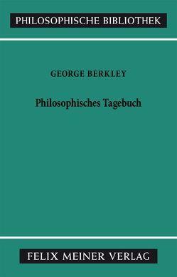 Philosophisches Tagebuch von Berkeley,  George, Breidert,  Wolfgang