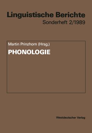 Phonologie von Prinzhorn,  Martin