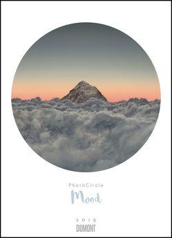 Photo-Circle Mood 2019 – Landschafts-Fotografie kreisrund – Poster-Format 49,5 x 68,5 cm von DUMONT Kalenderverlag, Verschiedene