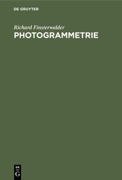 Photogrammetrie von Finsterwalder,  Richard