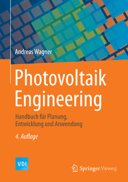 Photovoltaik Engineering von Wagner,  Andreas