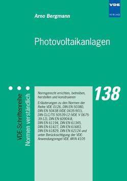 Photovoltaikanlagen von Bergmann,  Arno