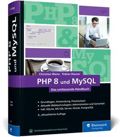 PHP 8 und MySQL von Hauser,  Tobias, Wenz,  Christian