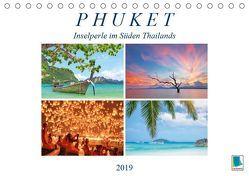 Phuket: Inselperle im Süden Thailands (Tischkalender 2019 DIN A5 quer)
