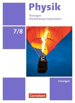 Physik – Neue Ausgabe – Ausgabe A / 7./8. Schuljahr – Lösungen zum Schülerbuch