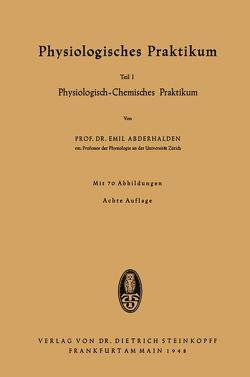 Physiologisches Praktikum von Abderhalden,  Emil