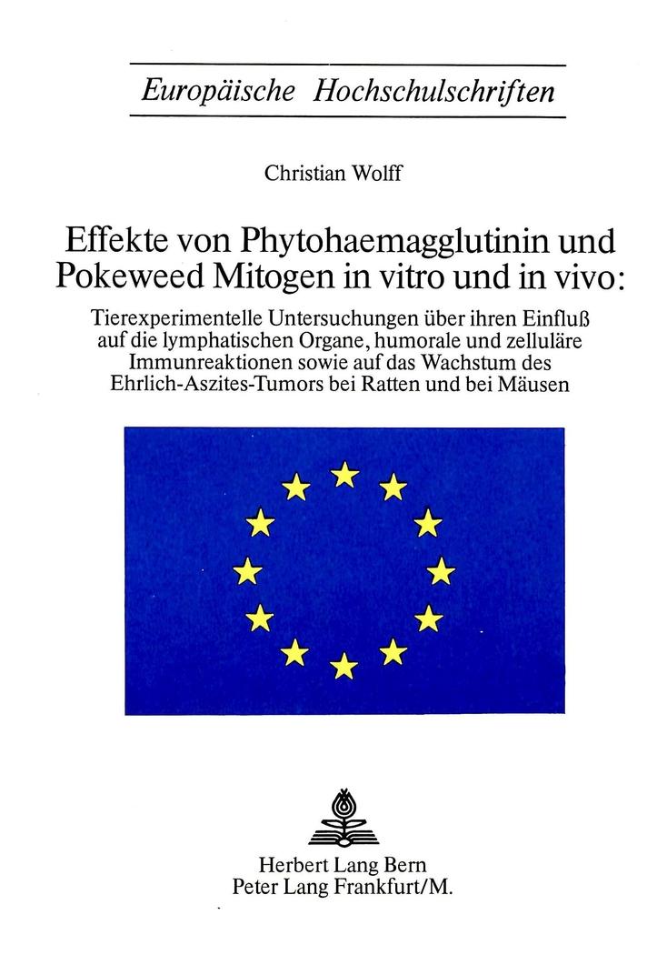 phytohaemagglutinin pha und poleweed mitogen pwm in vitro und in v. Black Bedroom Furniture Sets. Home Design Ideas