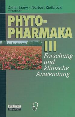 Phytopharmaka III von Loew,  Dieter, Rietbrock,  Norbert