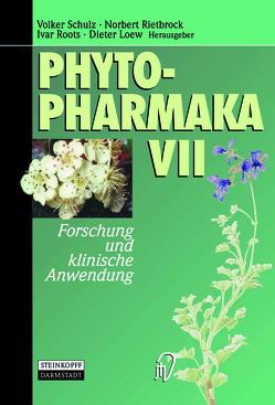 Phytopharmaka VII von Loew,  Dieter, Rietbrock,  Norbert, Roots,  Ivar, Schulz,  Volker
