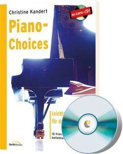 Piano-Choices von Kandert,  Christine