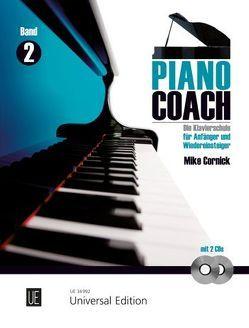 Piano Coach 2 mit 2 CDs von Cornick,  Mike