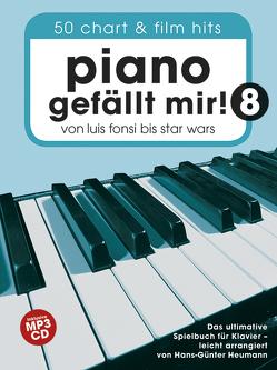 Piano gefällt mir! 50 Chart und Film Hits – Band 8 mit CD von Bosworth Edition, Heumann,  Hans Günter