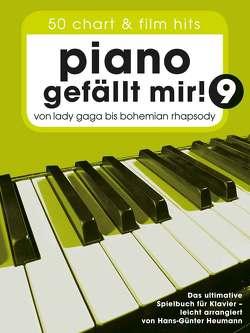 Piano gefällt mir! 50 Chart und Film Hits – Band 9 von Bosworth Edition, Heumann,  Hans Günter