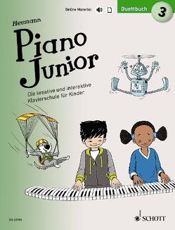 Piano Junior: Duettbuch 3 von Heumann,  Hans Günter, Leopé