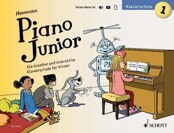 Piano Junior: Klavierschule 1 von Heumann,  Hans Günter, Leopé