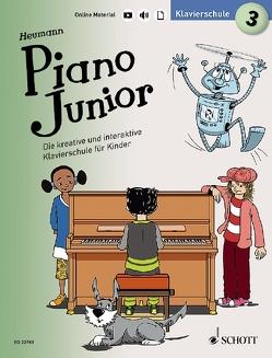 Piano Junior: Klavierschule 3 von Heumann,  Hans Günter, Leopé