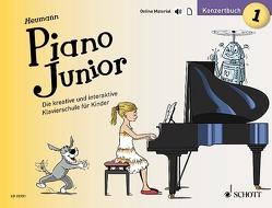 Piano Junior: Konzertbuch 1 von Heumann,  Hans Günter, Leopé