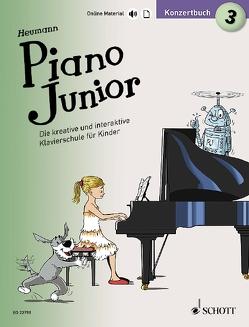 Piano Junior: Konzertbuch 3 von Heumann,  Hans Günter, Leopé