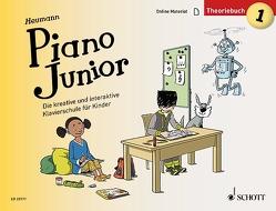 Piano Junior: Theoriebuch 1 von Heumann,  Hans Günter, Leopé