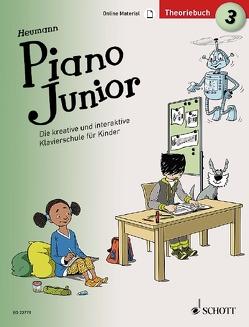 Piano Junior: Theoriebuch 3 von Heumann,  Hans Günter, Leopé