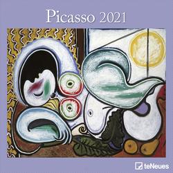 Picasso 2021 – Wand-Kalender – Broschüren-Kalender – 30×30 – 30×60 geöffnet – Kunst-Kalender von Picasso,  Pablo