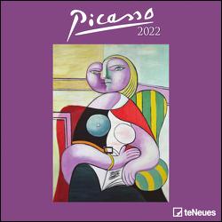 Picasso 2022 – Wand-Kalender – Broschüren-Kalender – 30×30 – 30×60 geöffnet – Kunst-Kalender von Picasso,  Pablo