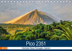 Pico 2351: Höchster Berg Portugals, Azoren (Tischkalender 2019 DIN A5 quer) von Krauss,  Benjamin