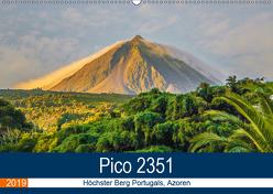Pico 2351: Höchster Berg Portugals, Azoren (Wandkalender 2019 DIN A2 quer) von Krauss,  Benjamin