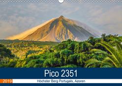Pico 2351: Höchster Berg Portugals, Azoren (Wandkalender 2019 DIN A3 quer) von Krauss,  Benjamin