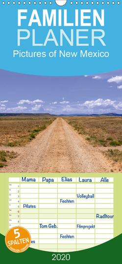 Pictures of New Mexico – Familienplaner hoch (Wandkalender 2020 , 21 cm x 45 cm, hoch) von Roth,  Martina